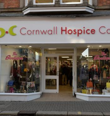 Cornwall Hospice Care charity shop