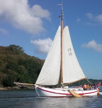 Sailing Experiences on the River Fal