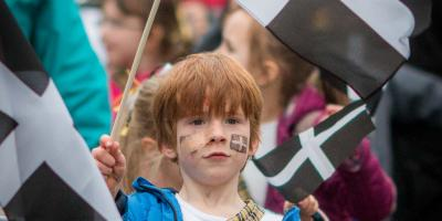 St Pirans Day, Truro, 5th March, Cornwall